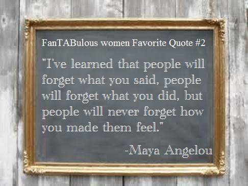 people remember how you make them feel maya angelou