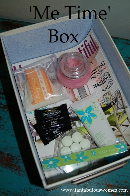 'Me Time' Box from www.fantabulouswomen.com