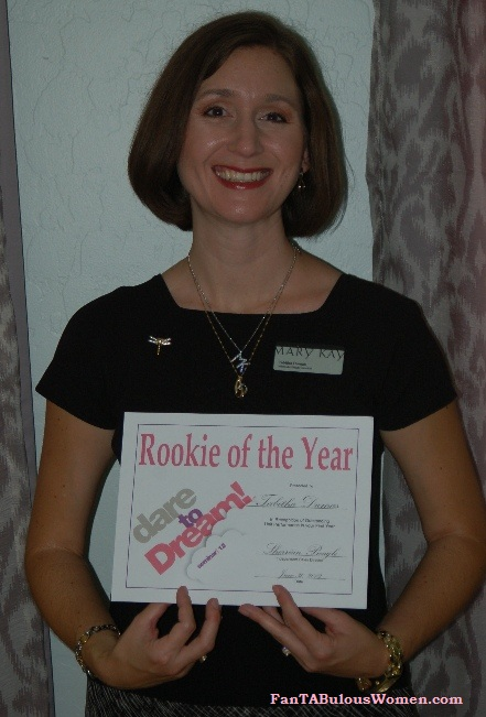 fantabulouswomen mary kay rookie of the year