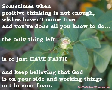 FanTABulousWomen.com faith quote