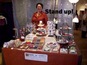 Fantabulous Women vendor event tips stand up made in lowell